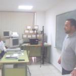 Dando clases en el PTA