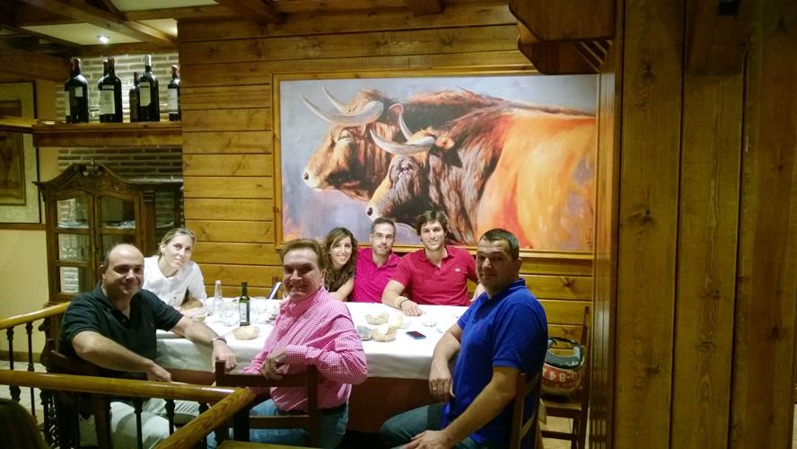 La guinda: Una cena Isodietica en un restaurante cercano
