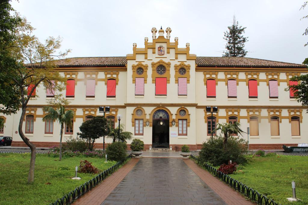 Fachada del edificio principal de La Térmica