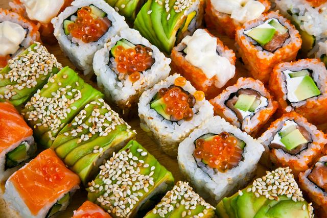 Sushi bueno para adelgazar