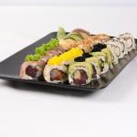 Sushi preparado sin arroz ni azúcar