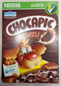 Análisis de los cereales Nestlé Chocapic