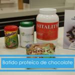 Batido de proteína con chcocolate