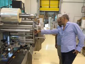Visitando la línea de producción de Ciao Carb