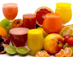 Adelgazar tomando zumos de frutas