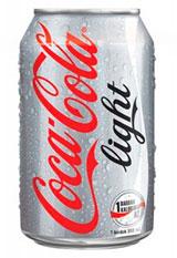 La Coca Cola Light contiene aspartamo