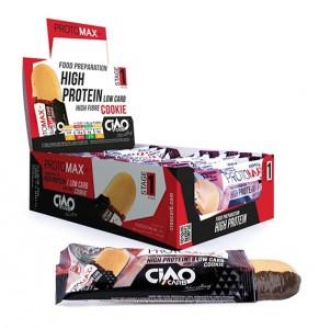 Galletas Protomax Oranchoc, Cocochoc y Lemonchoc de CiaoCarb
