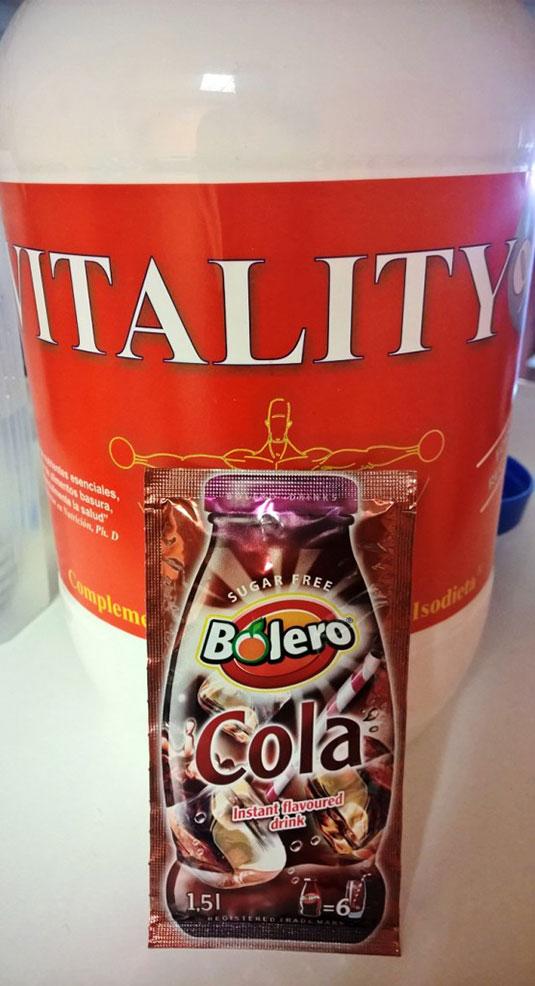 Ingredientes del Colafloat