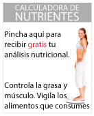 Calculadora de nutrientes gratis de Adelgazar sin Milagros