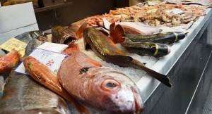 Pescado fresco del mercado de Atarazanas