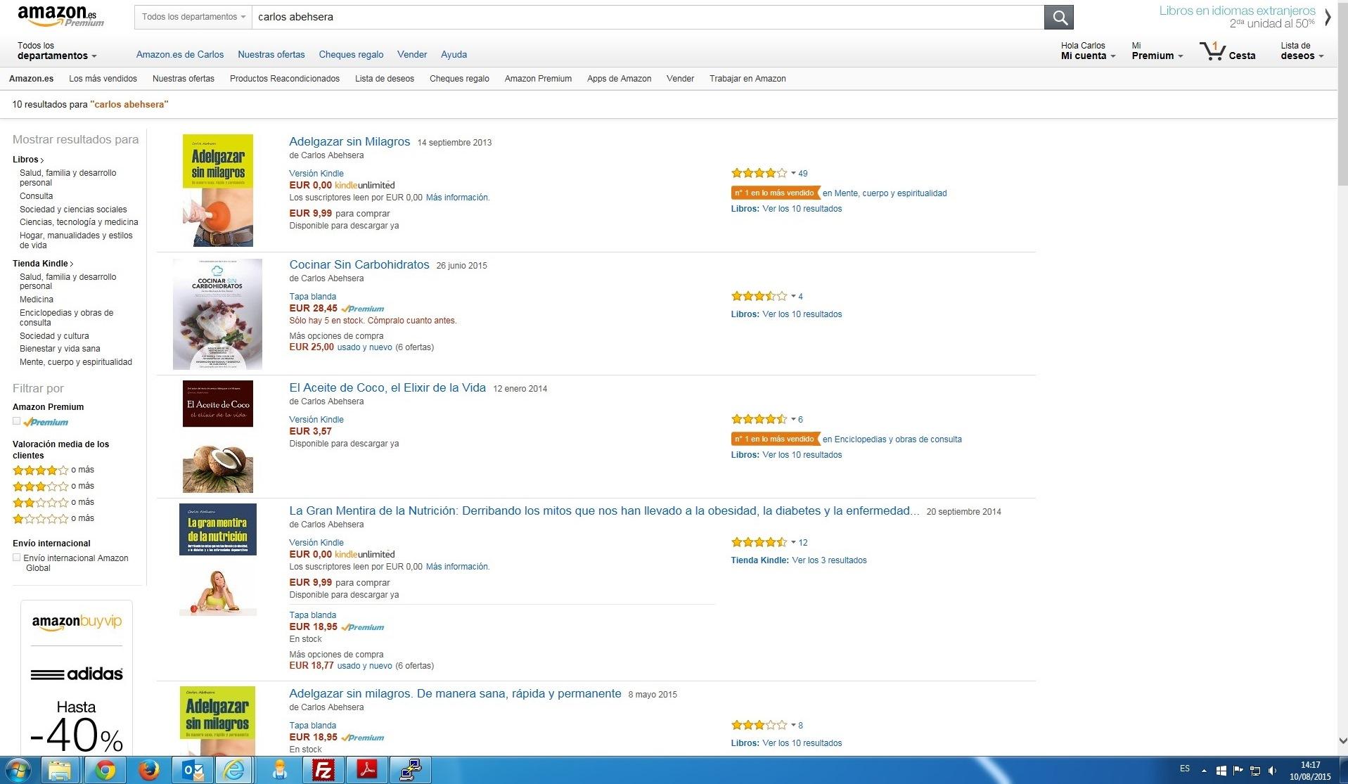 libros para adelgazar mas vendidos