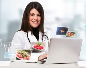 Nutricionista del INAS prepara dietas personalizadas