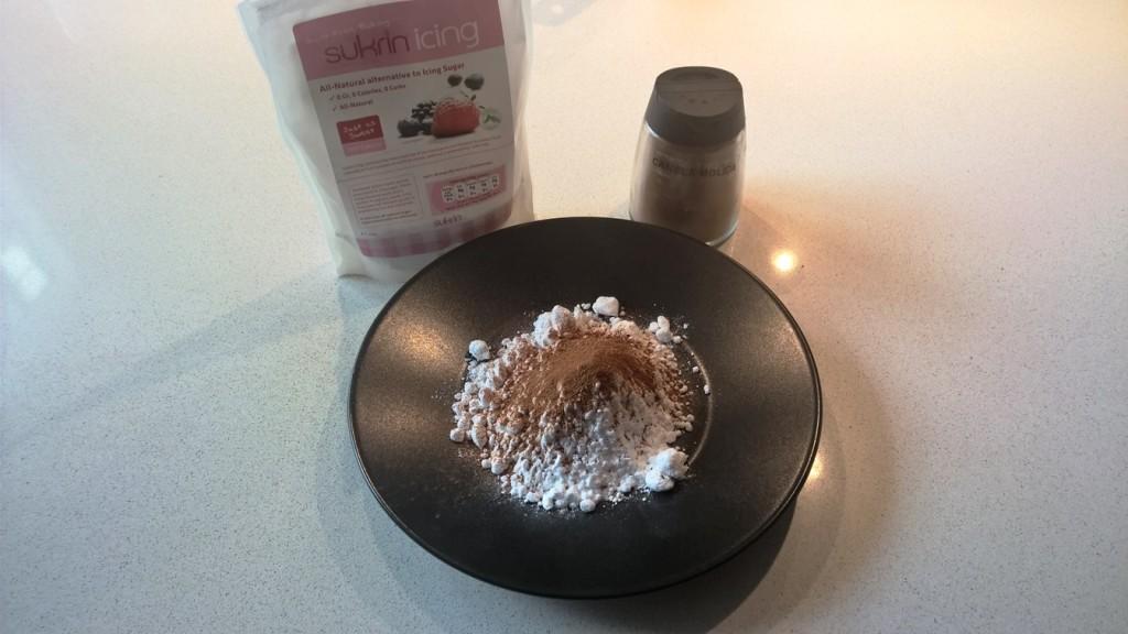 Mezcla de Sukrin Melis y Canela para las torrijas