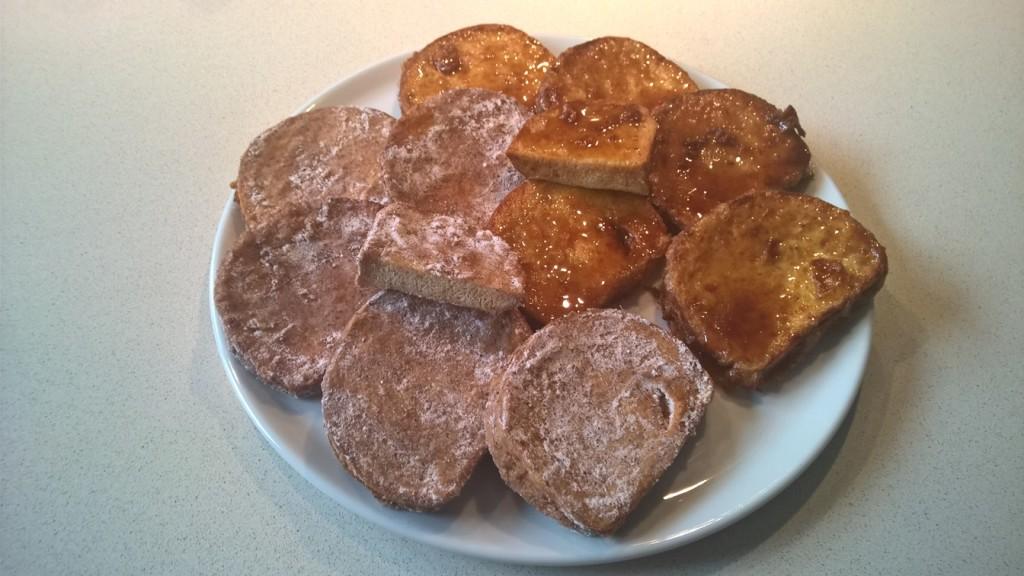 Receta de Torrijas sin Carbohidratos Terminadas de dos formas