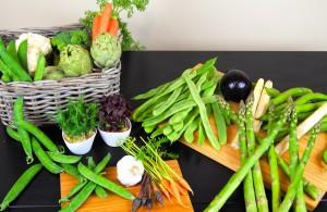 Verduras ricas en fibra