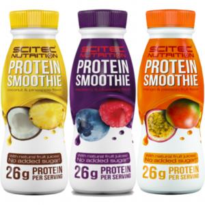 Batidos de proteina y leche de Scitec Nutrition Protein Smoothies