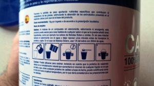 Casein Pro - Instrucciones de uso