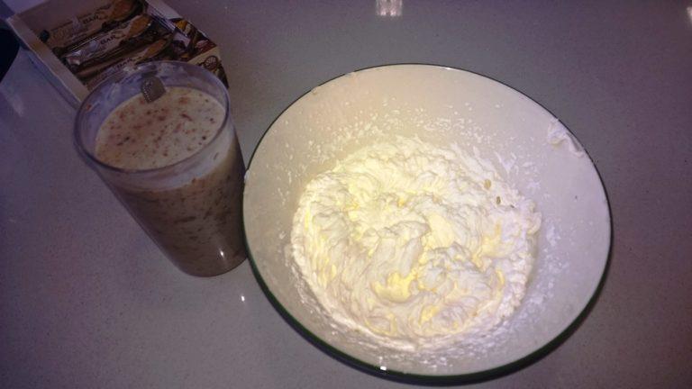 Paso 2 de la receta de helado sin carbohidrato