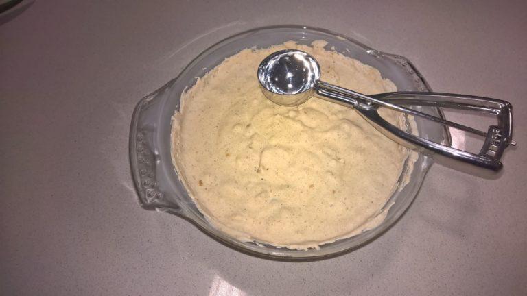 Paso 4 de la receta de helado sin carbohidrato