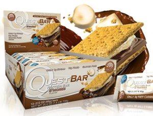Quest Bar Smore para hacer helado