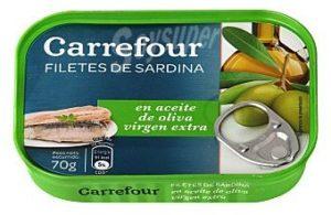 Sardinas en aceite de oliva virgen