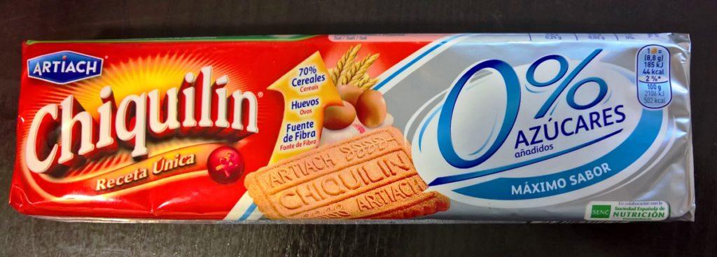 Galletas Chiquilin 0% Azúcares Añadidos