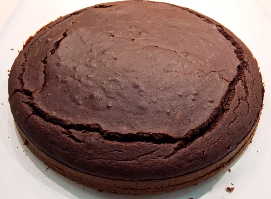 Bizcocho de Chocolate Sukrin sin carbohidratos