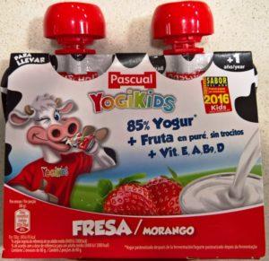 YogiKids, un producto denunciable del Grupo Pascual
