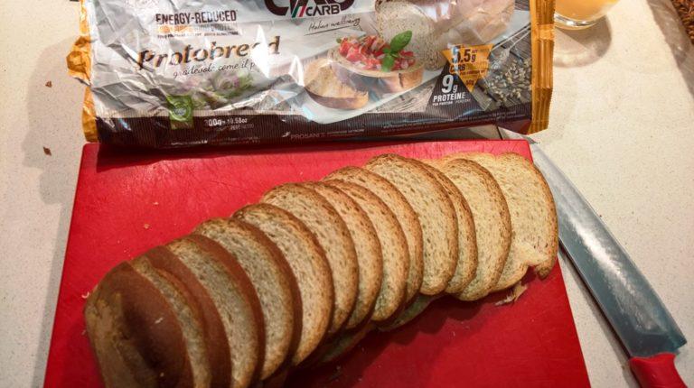 Cortamos el pan bajo en carbohidratos