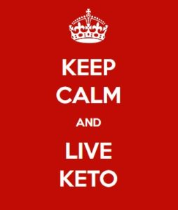 Keep Calm and Live Keto