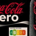 Puntuación Nutriscore de la Coca Cola Zero